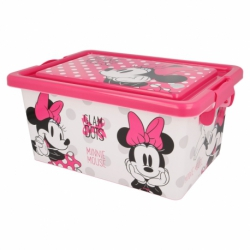 CONTENEDOR 7 L | MINNIE MOUSE GLAM DOTS