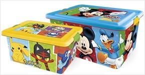 Cajas de ordenaci n infantil cajas para juguetes todos los personajes 2 storline - Cajas de ordenacion ...
